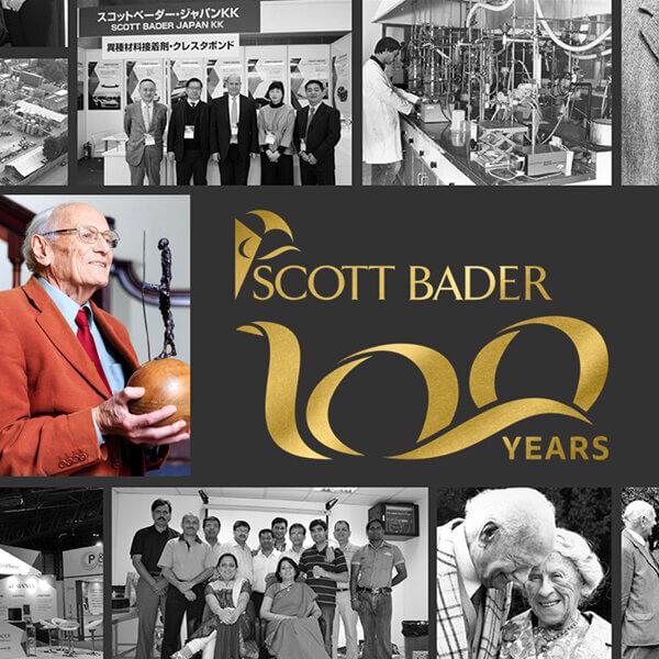 We celebrate Scott Bader's 100th birthday this month