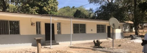 Bansang Hospital Appeal – The Scott Bader Commonwealth Doctors Homes are complete!