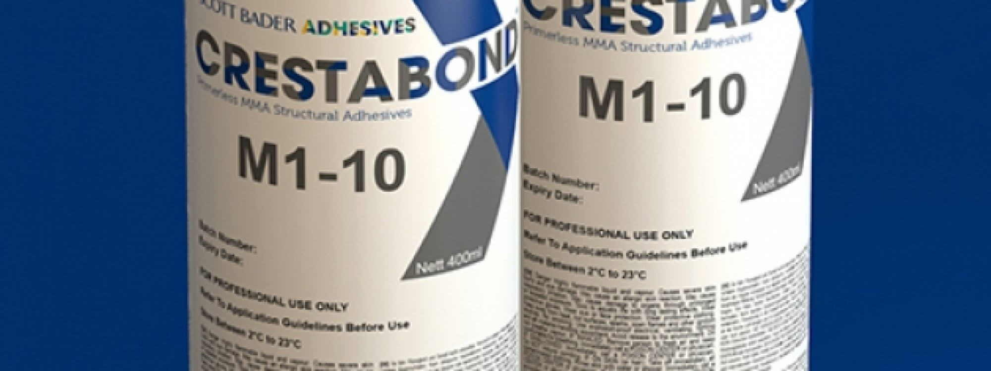 Scott Bader Launches Crestabond<sup>®</sup> M1-10 Structural Adhesive