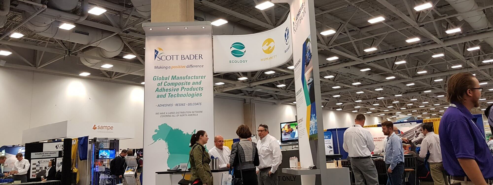 Scott Bader North America exhibiting at CAMX 2019