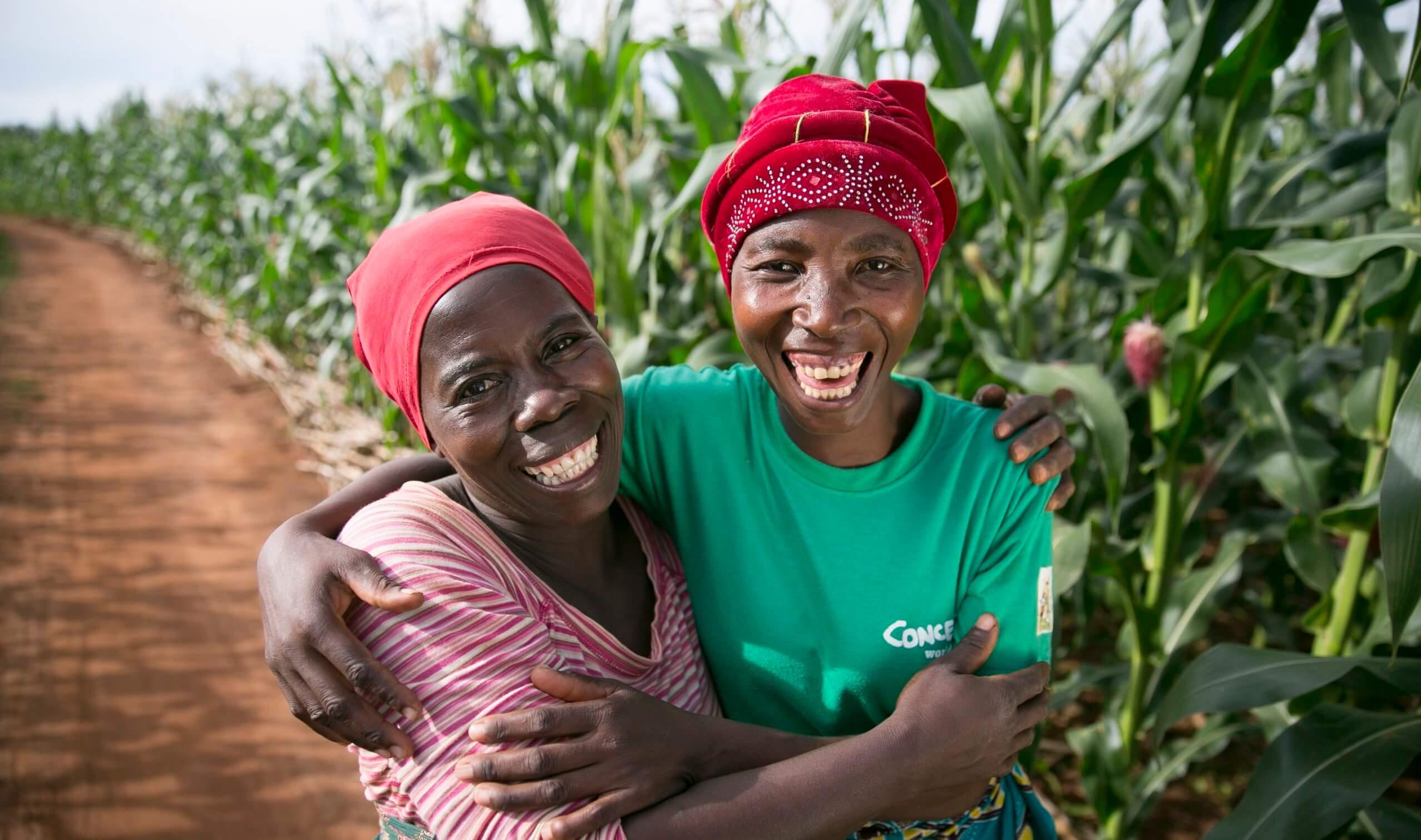 Concern Worldwide update us on their progress since receiving their Scott Bader Commonwealth grant