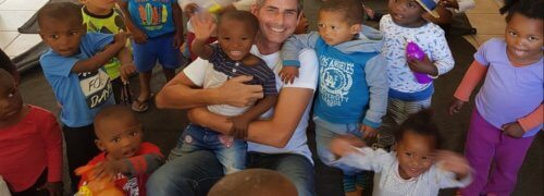 Pat's Volunteering Day at Philippi Children's Centre