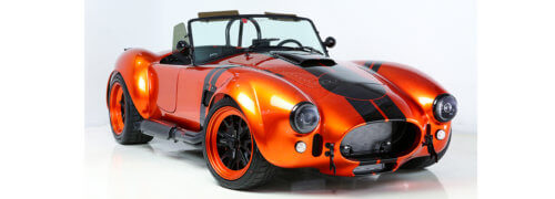 Iconic 60s Replica Racing Roadster Car Bodies  Hand-built using Scott Bader Composites Materials