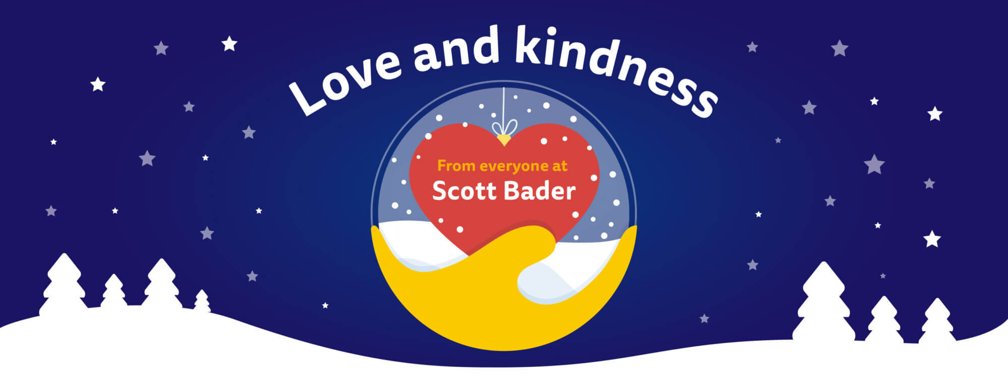 Sending you love and kindness at this time of year