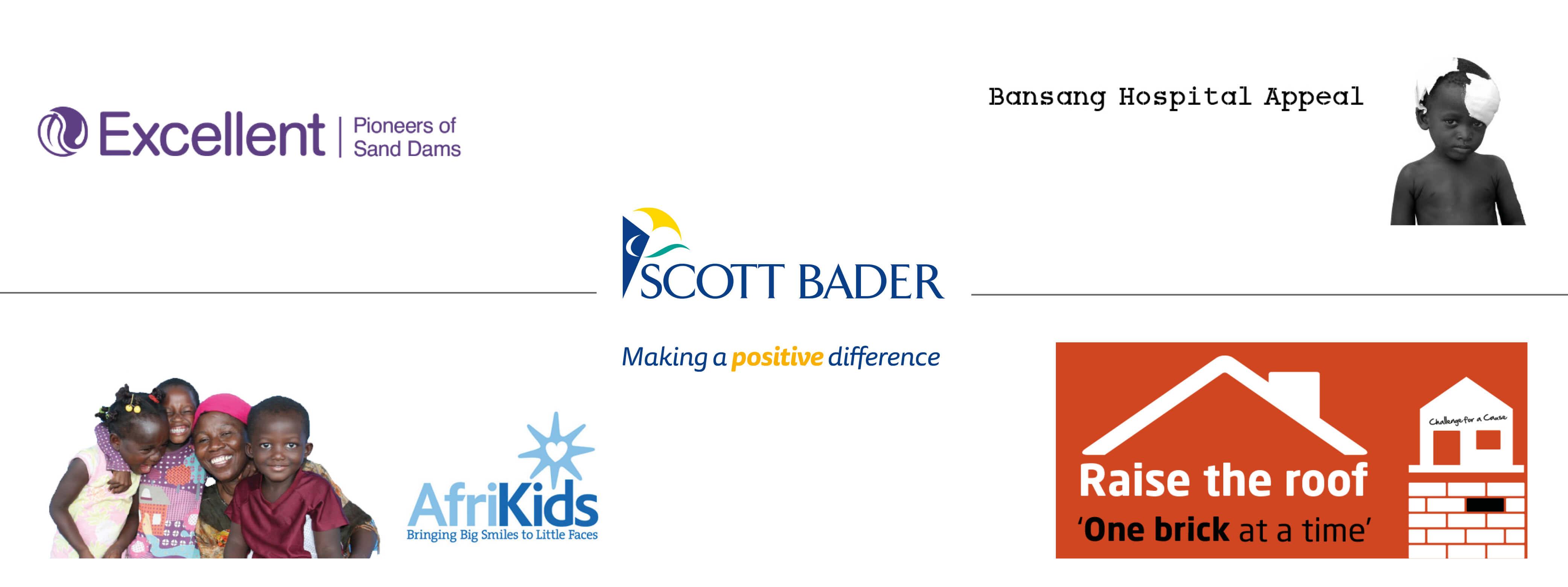Winners of the Scott Bader Commonwealth's Charity Fund 2018