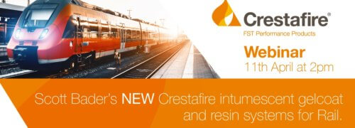 Scott Bader's webinar on new Crestafire<sup>®</sup> FST intumescent gelcoat and resin systems