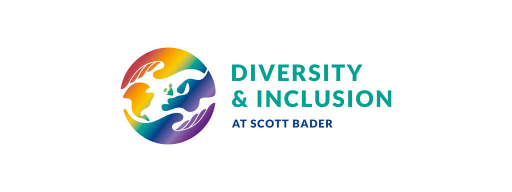 Diversity & Inclusion logo displayed on a white background.