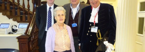 Scott Bader UK is visited by the High Sheriff of Northamptonshire