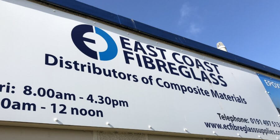 East Coast Fibreglass Supplies install GelTint machine & become Northern CrysticROOF training centre