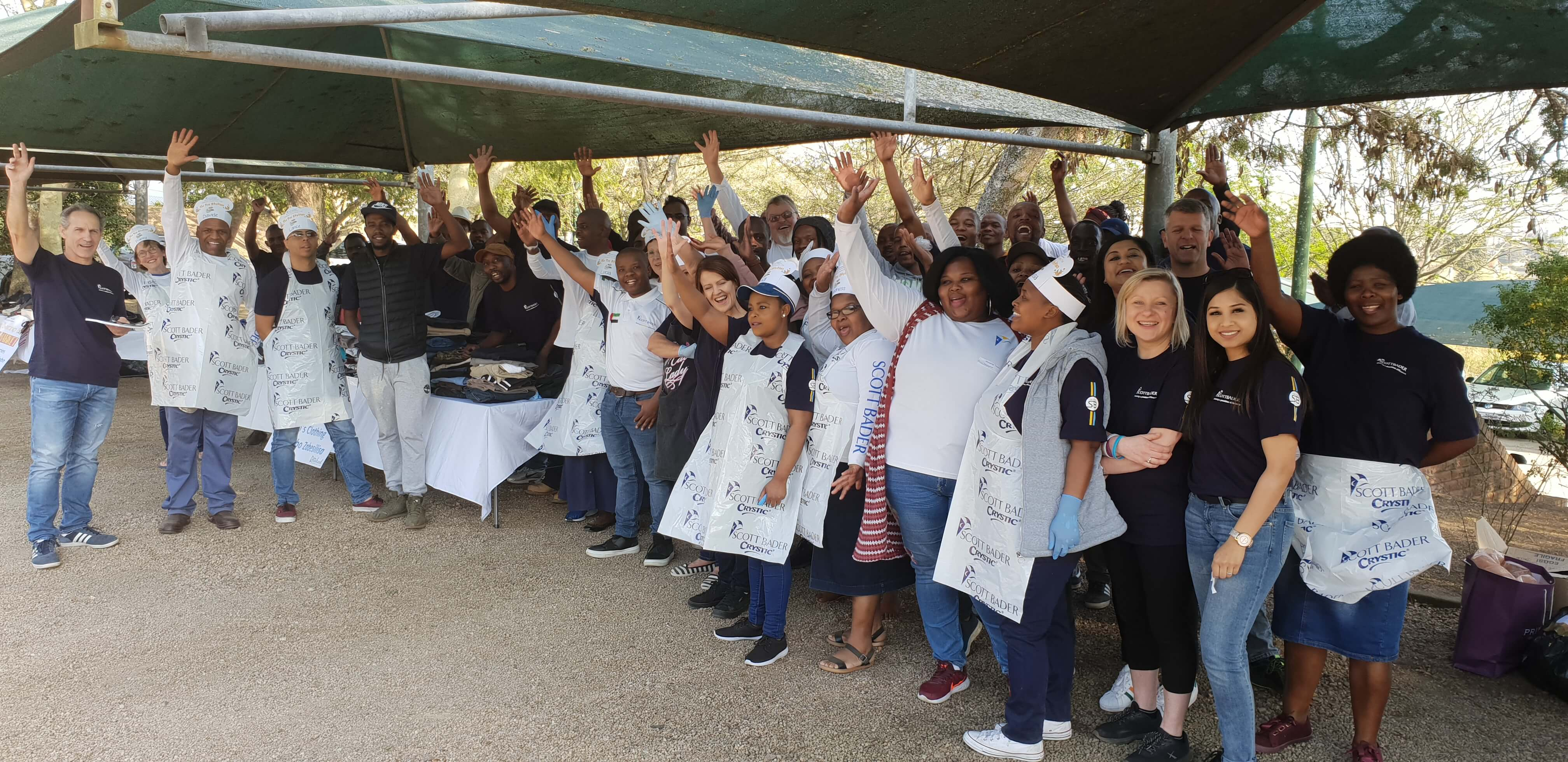 Scott Bader celebrate employee ownership with community days in North America and South Africa