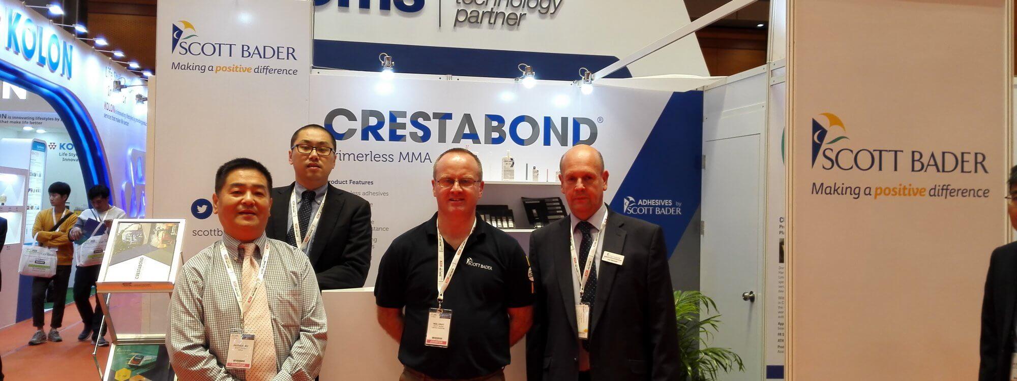 Scott Bader exhibiting at JEC Asia 2018