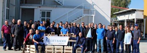 Scott Bader d.o.o (Croatia) celebrate their Company Day 2018!