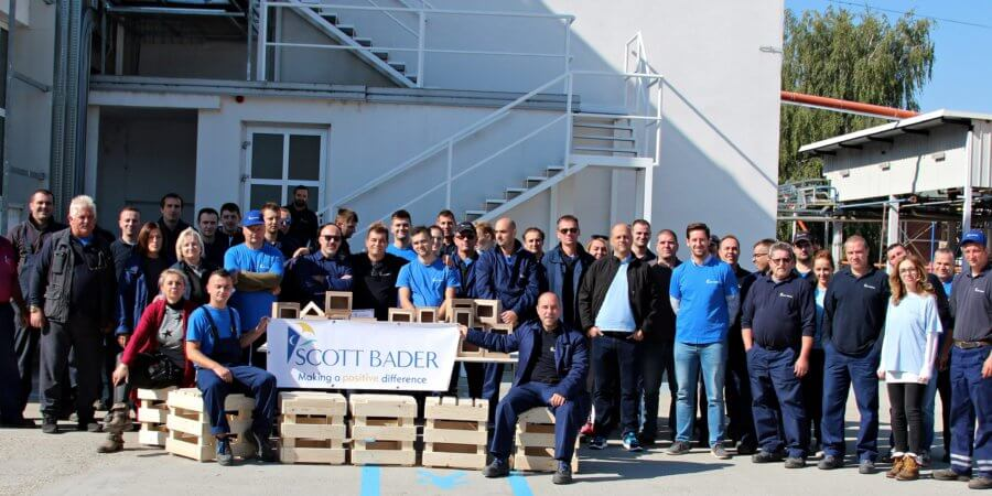Scott Bader d.o.o (Croatia) celebrate their Company Day 2018!