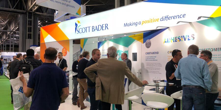 Scott Bader is ready for a busy Advanced Engineering Show