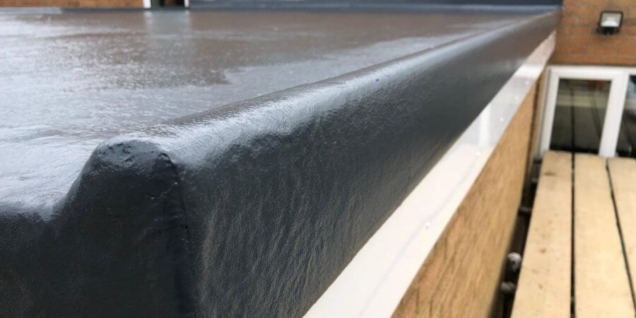 CrysticROOF Premier produces high quality GRP roof for local Scott Bader UK residents