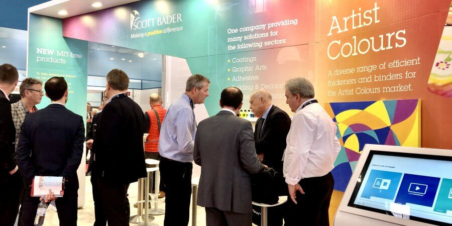 A successful ECS Show for our Speciality Polymer team