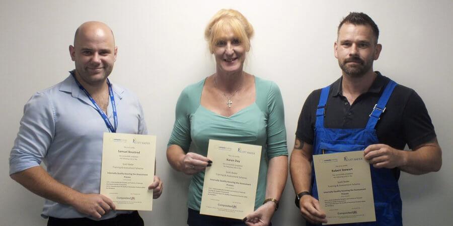 Scott Bader UK Celebrate 10 years of Training Assessment Scheme