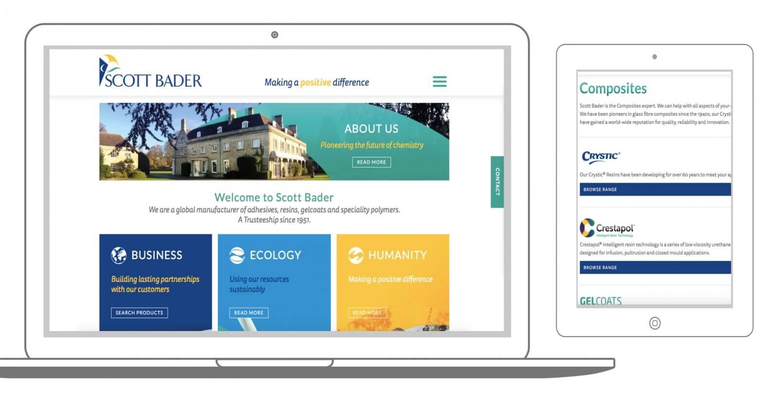 Introducing the new scottbader.com!