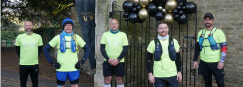 Scott Bader colleagues complete 100k in a day to celebrate Centenary and raise money for MIND