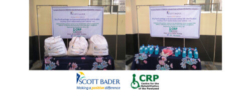 Scott Bader Middle East support the distribution of food packages in Bangladesh