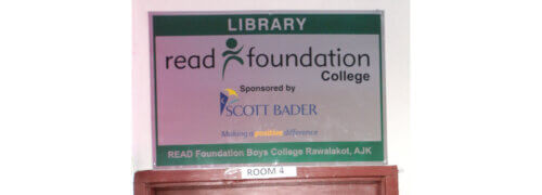 The Scott Bader Commonwealth and READ Foundation partner to refurbish college library in rural Pakistan