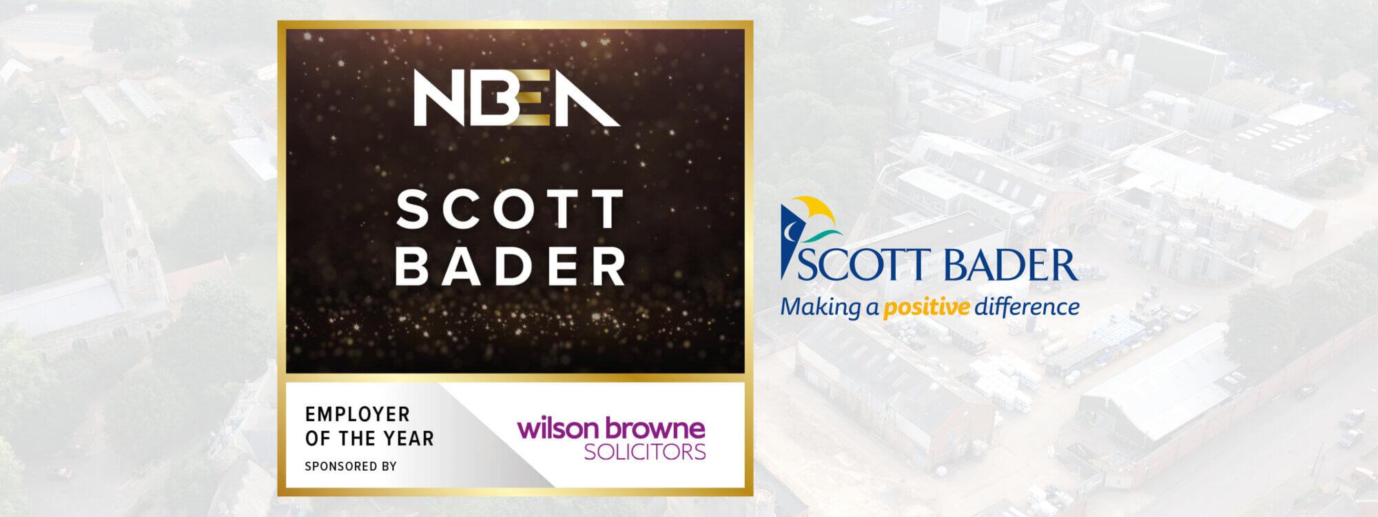 Scott Bader UK wins Employer of the Year award for Northamptonshire