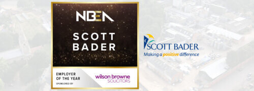 Scott Bader UK wins Employer of the Year award for Northamptonshire