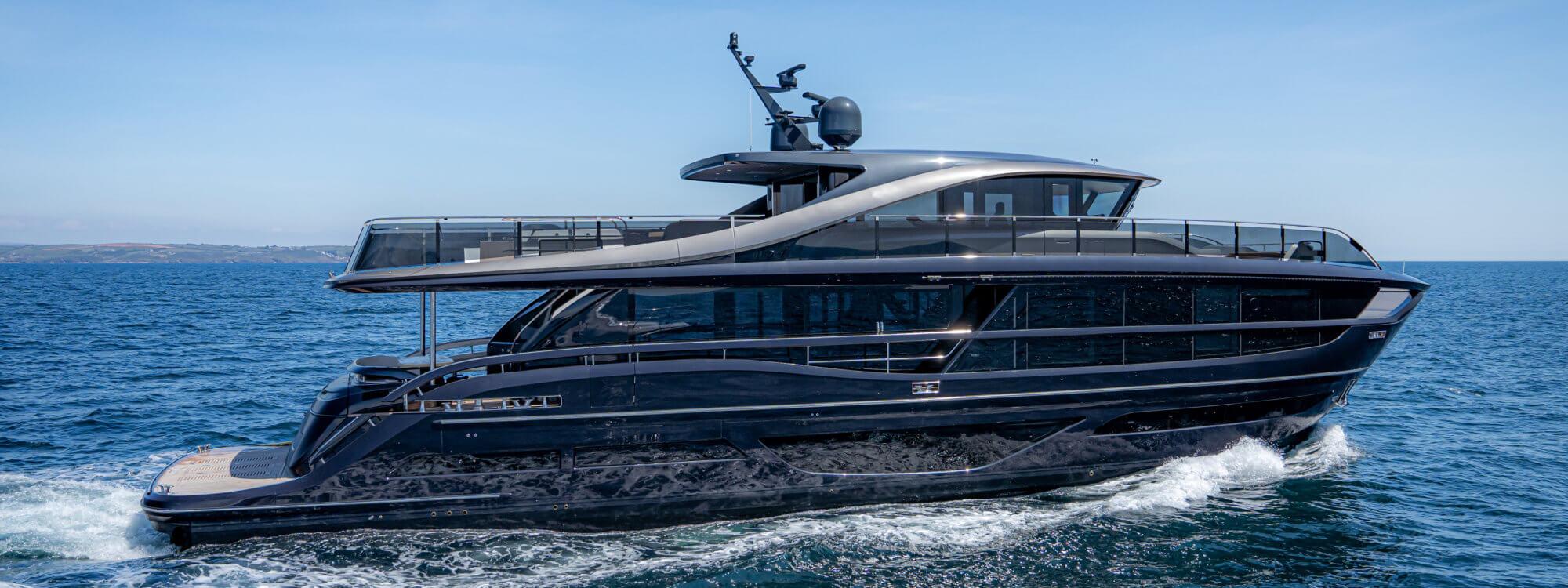 Princess Yachts launch the X95, beautifully sculpted using Scott Bader resins, gelcoats and adhesives