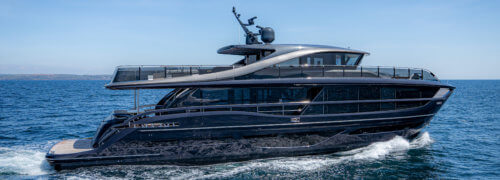 Princess Yachts launch the X95, beautifully sculpted using Scott Bader resins, gelcoats and adhesives