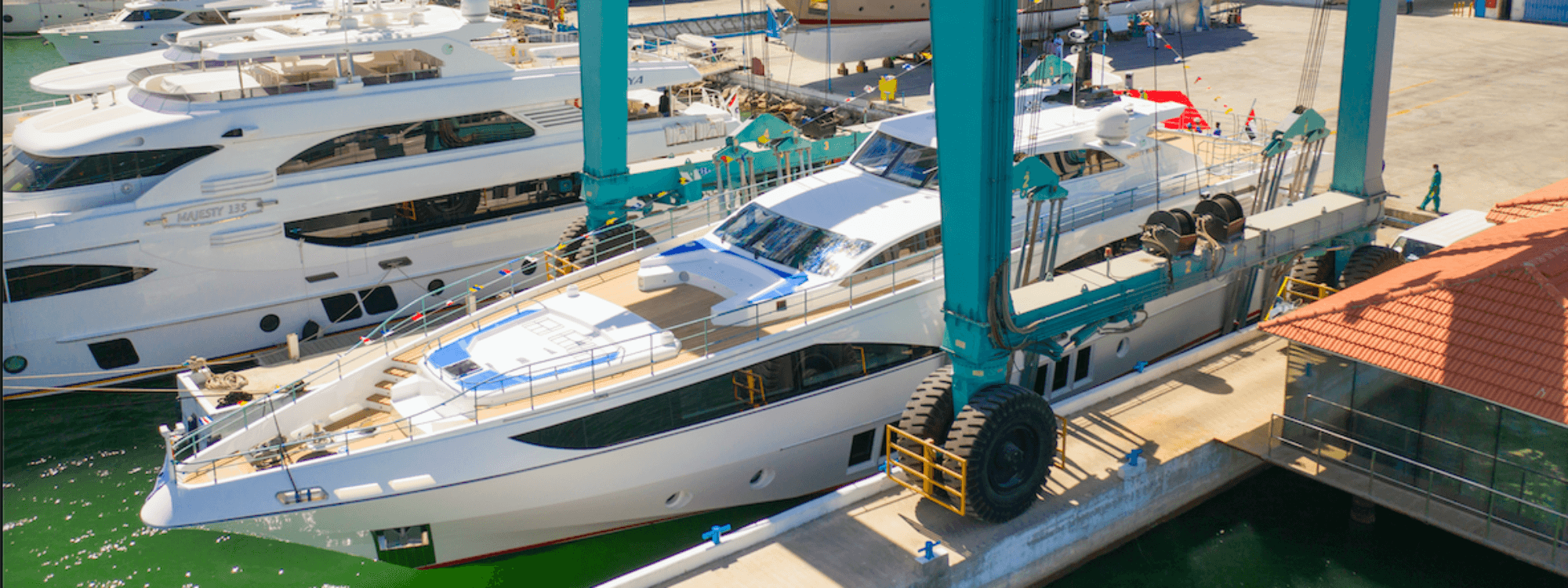 Gulf Craft launch the Majesty 122, a timeless superyacht built using Scott Bader resins, gelcoats and adhesives