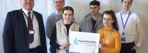 Scott Bader Apprentices Celebrate National Apprenticeship Week 2019
