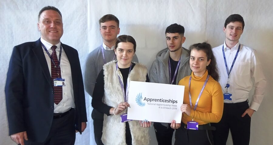 Scott Bader Apprentices Celebrate National Apprenticeship Week 2019