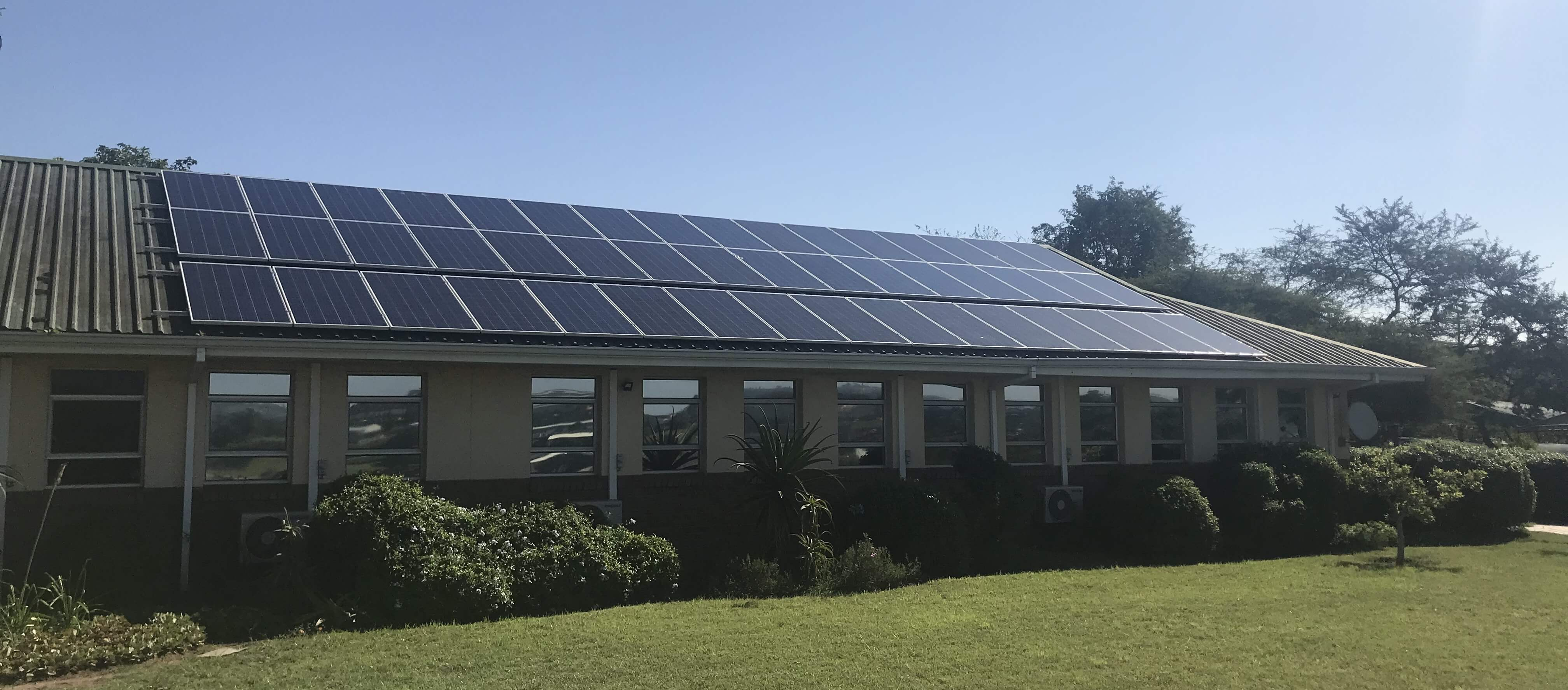 Scott Bader South Africa add solar panels to office building